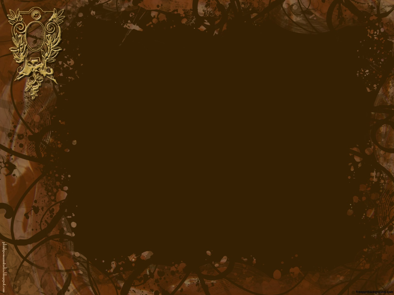 chocolate lovers  u2013 free ppt backgrounds