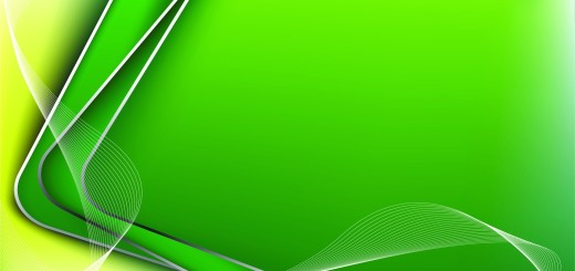 abstract green lines corners ppt