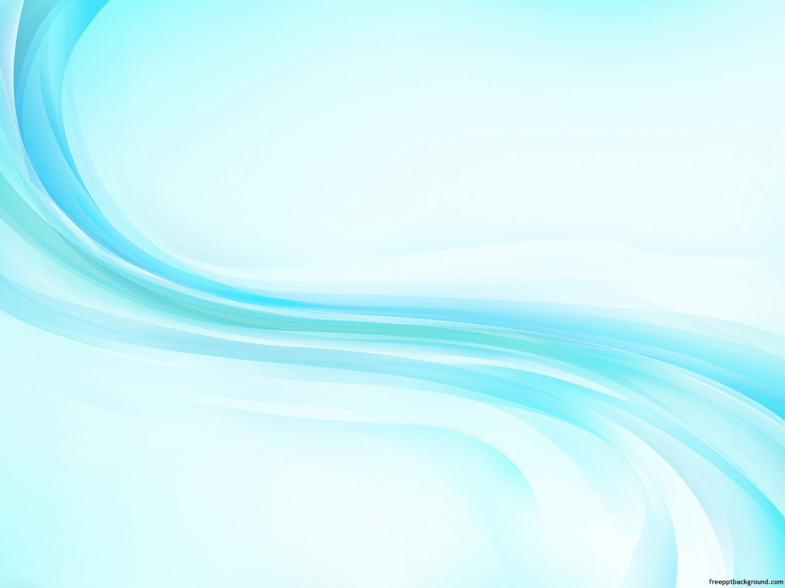 Blue Wave Light Ppt Templates Free Ppt Backgrounds