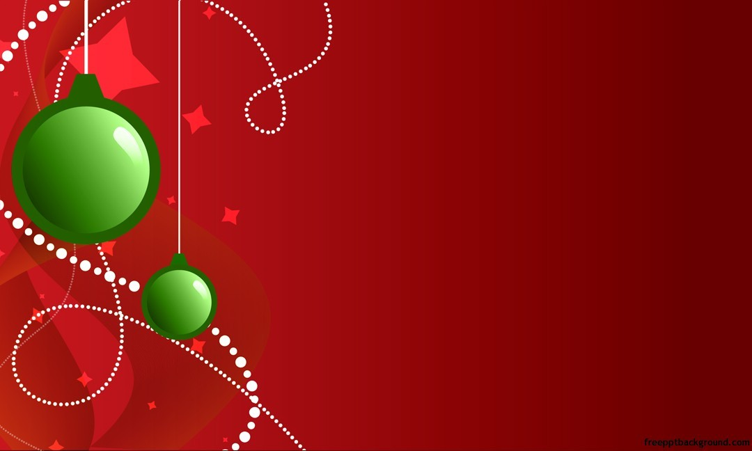 Happy new year 2014 christmas ppt backgrounds free ppt backgrounds red background toneelgroepblik Gallery