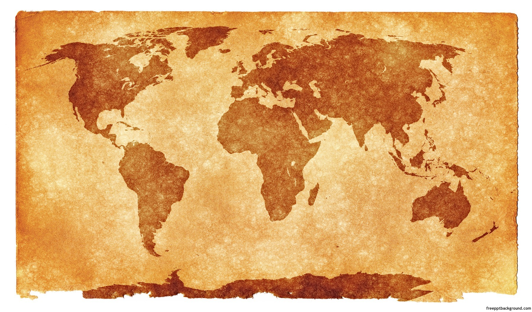 Grunge textured world map for ppt presentations free ppt backgrounds tags gumiabroncs Images