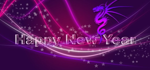 Download happy new year pink wallpaper