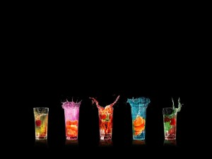 Drinks powerpoint background