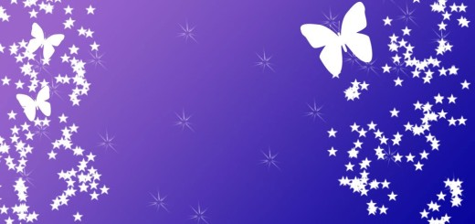 butterfly-with-stars-on-purple-powerpoint-template