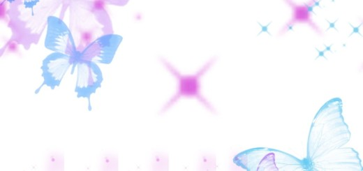 cute butterflies template