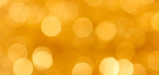 blurry-dots-golden-background
