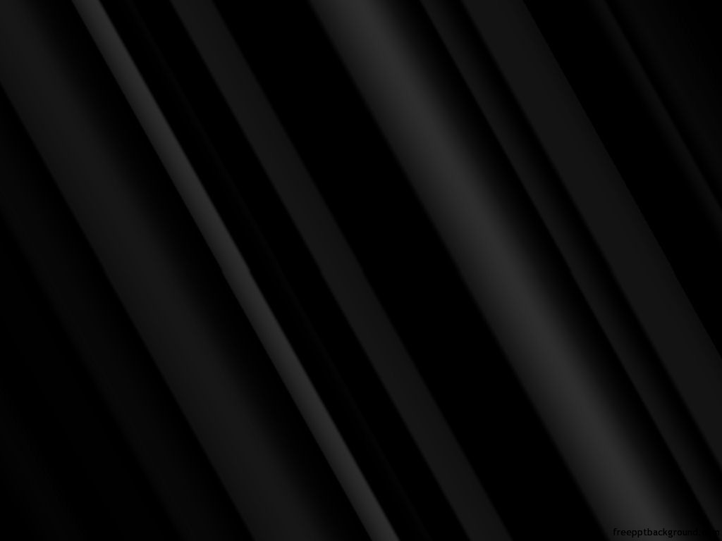 Dark Black Abstract Template Free Ppt Backgrounds